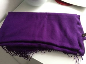 Pashmina Schal in lila