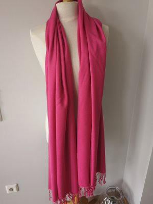 Pashmina Schal Kaschmir Seide in Pink