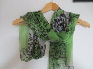 Passagiati Baumwoll Tuch, grün Töne, wie neu, nur 2x getragen