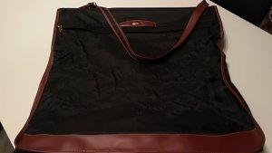 Samsonite Housse pour costume noir-cognac
