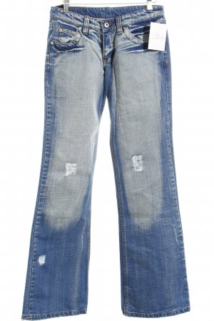 Passenger Boot Cut Jeans blau Casual-Look