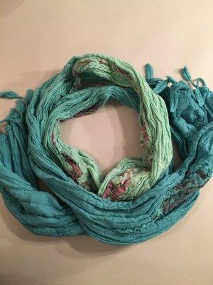 PASSIGATTI Fransenschal, Schal mit Farbverlauf NEU und ungetragen