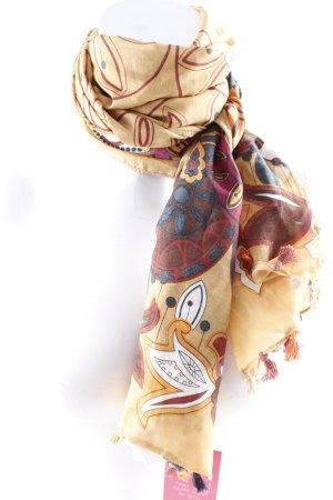 Passigatti Halstuch abstraktes Muster Casual-Look