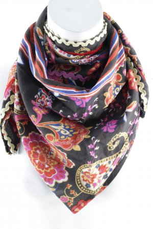 Passigatti Neckerchief floral pattern casual look