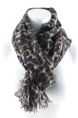 Passigatti Pañoleta estampado de leopardo estilo safari