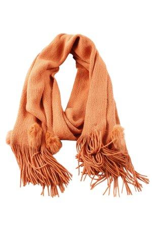 Passigatti Pashmina orange clair style décontracté