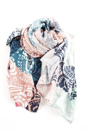 Passigatti Sommerschal abstraktes Muster Casual-Look