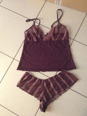 Passionata Conjunto de lencería púrpura-lila grisáceo Sintético