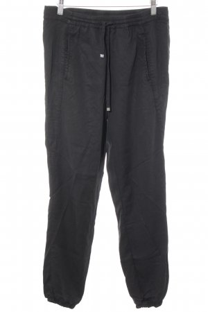Passport Pantalone largo nero stile casual