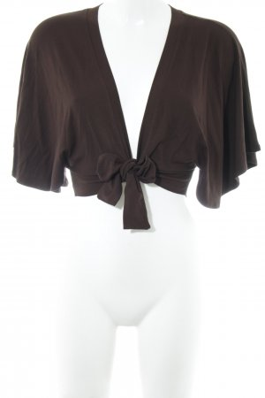 Passport Bolero marrone stile casual