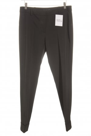 Passport Bundfaltenhose schwarz Business-Look
