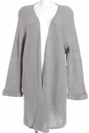 Passport Cardigan grau Kuschel-Optik