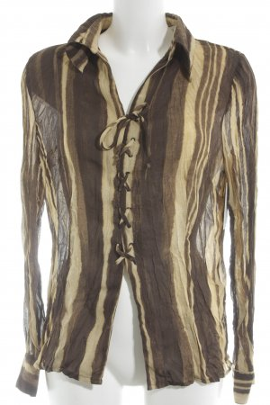 Passport Shirt Blouse beige-dark brown animal pattern animal print