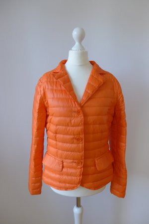 passport Jacke Übergangsjacke Blazer Daune burnt orange Gr. 36