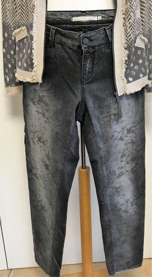 passport Jeans mit Farbverlauf d'grau/sand