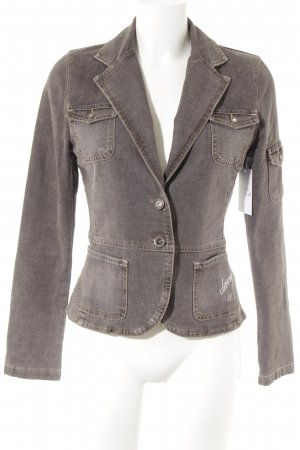 Passport Denim Blazer grey brown athletic style