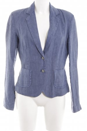 Passport Kurz-Blazer blau Casual-Look