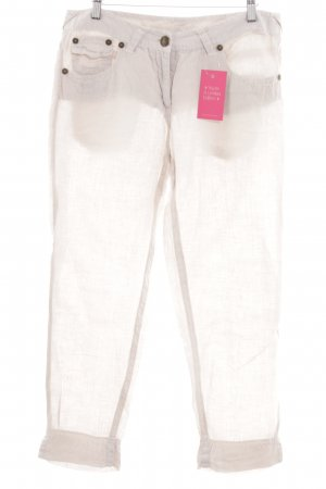 Passport Linen Pants natural white casual look