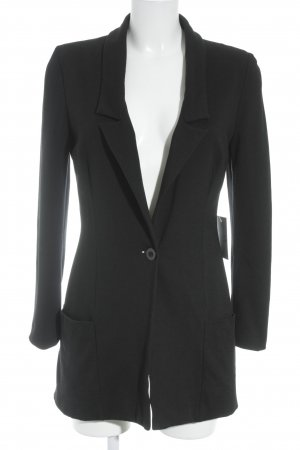Passport Long-Blazer schwarz Elegant