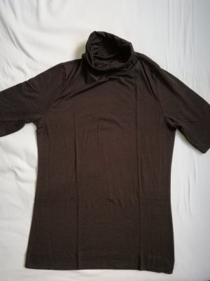 Passport Turtleneck Shirt dark brown