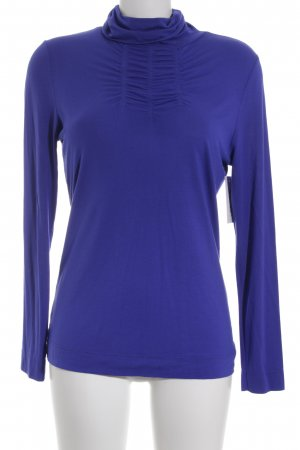 Passport Rollkragenshirt stahlblau Casual-Look