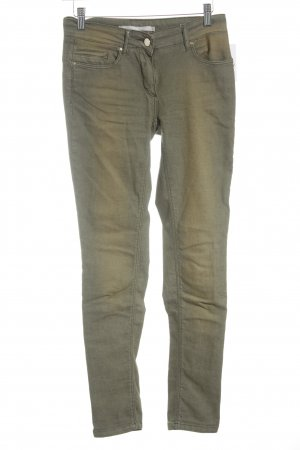 Passport Skinny Jeans khaki Farbverlauf Casual-Look