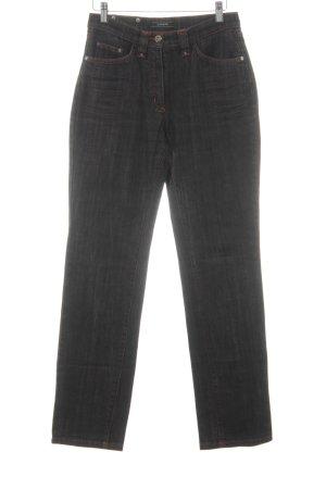 Passport Straight-Leg Jeans schwarz Jeans-Optik