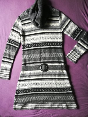Passport Gebreide jurk veelkleurig