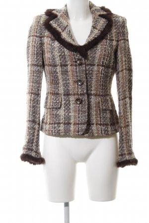 Passport Tweedblazer Allover-Druck Casual-Look