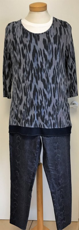 Passport Zweiteiler Hose/Shirt Animalprint