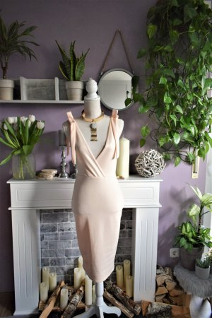 Pastel Cocktail Kleid Midikleid