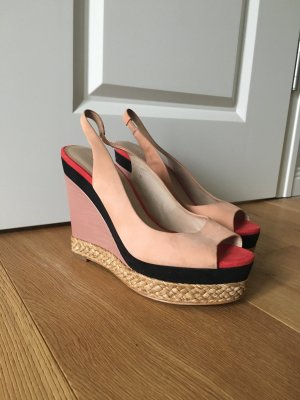 Pastell Wedges Color Blocking