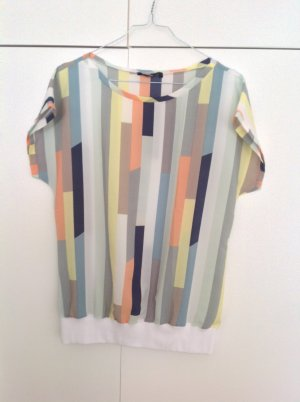 Pastellfarbene Bluse im Shirtstyle