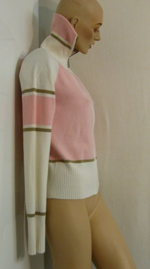 pastellfarbene Strickjacke, stretch, Gr.M