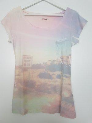 Pastellfarbenes Tshirt von WRANGLER