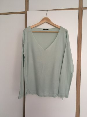 Pastellgrüner Pullover von promod