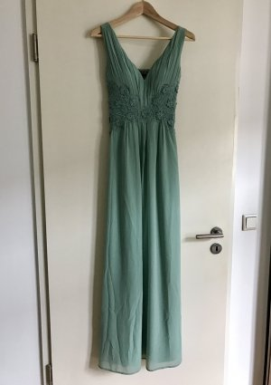 Pastelliges Abendkleid in Mint