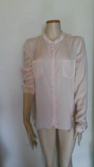 Pastelrosa Bluse von set
