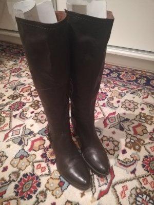 Humanic Heel Boots brown-dark brown