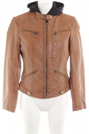 Patago Leather Jacket multicolored casual look