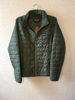 Patagonia Chaqueta para exteriores caqui-verde claro Poliéster