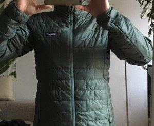 Patagonia Outdoor Jacket khaki-lime-green