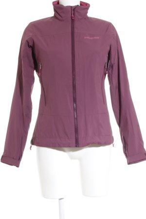Patagonia Outdoorjacke violett-pink sportlicher Stil