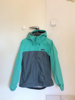 Patagonia Imperméable gris-turquoise