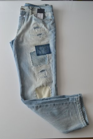 Patchwork Jeans - CLOSED - Gr. 25 - fast wie Neu mit Etikett - blogger girls - destroyed