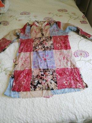 Robe tunique multicolore