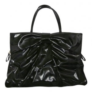 Patent Leather Valentino Bow Bag