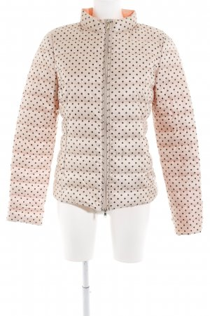 Patricia Pepe Down Jacket gold-colored-black spot pattern casual look