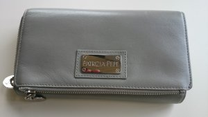 Patricia Pepe Geldbeutel Geldbörse Portemonnaie grau/pink
