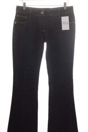 Patricia Pepe Spijker flares donkerblauw casual uitstraling